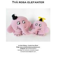 Två rosa elefanter - mönster ute nu!