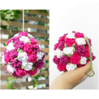 Blommande boll